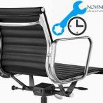 بررسی مدت زمان تعمیر صندلی اداری در محل